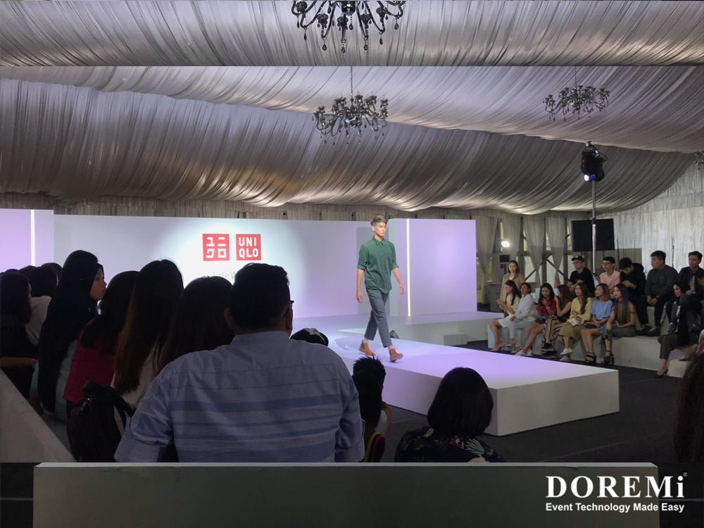 02 Fashion show Launching led Music Video Stage structure led Creative Stage Console professional Sound Light Event DOREMi