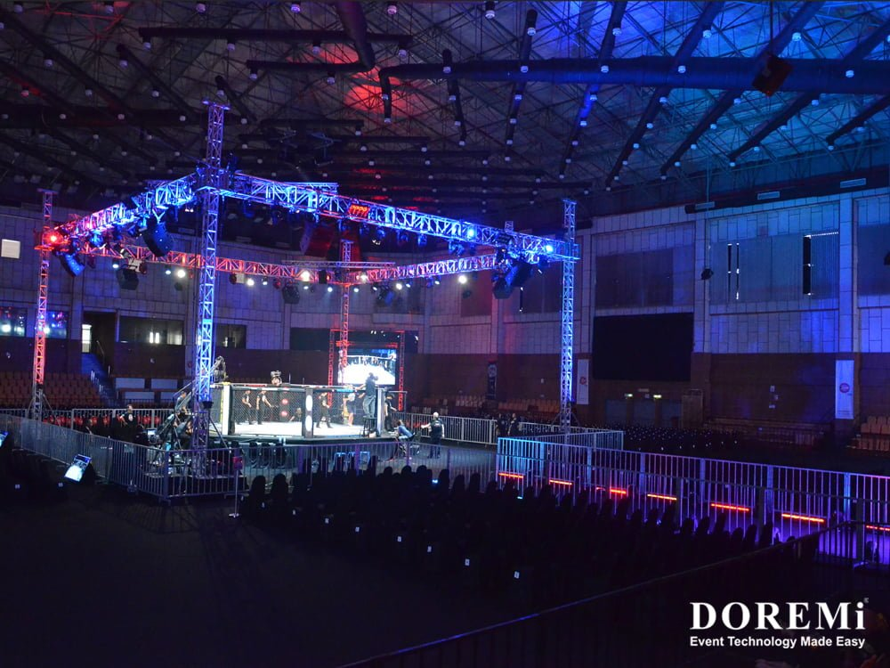 02 mma truss led Music Video Stage structure led Creative Stage Console professional Sound Light Event DOREMi