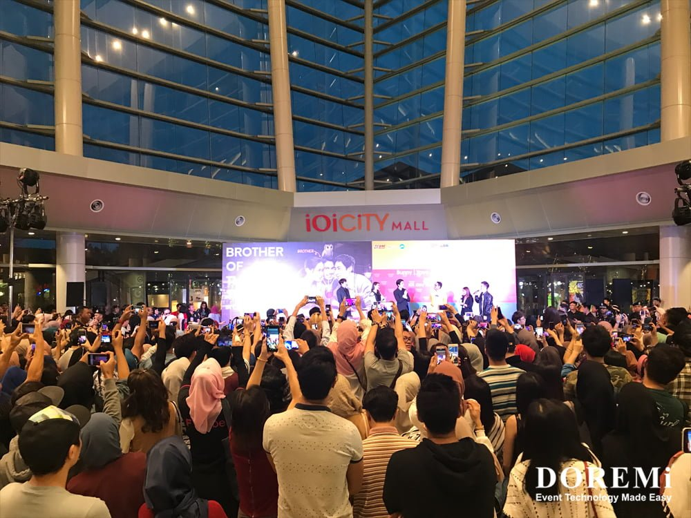 02 nick fans meeting Music Video Stage structure led Creative Stage Console airport professional Sound Light Event DOREMi
