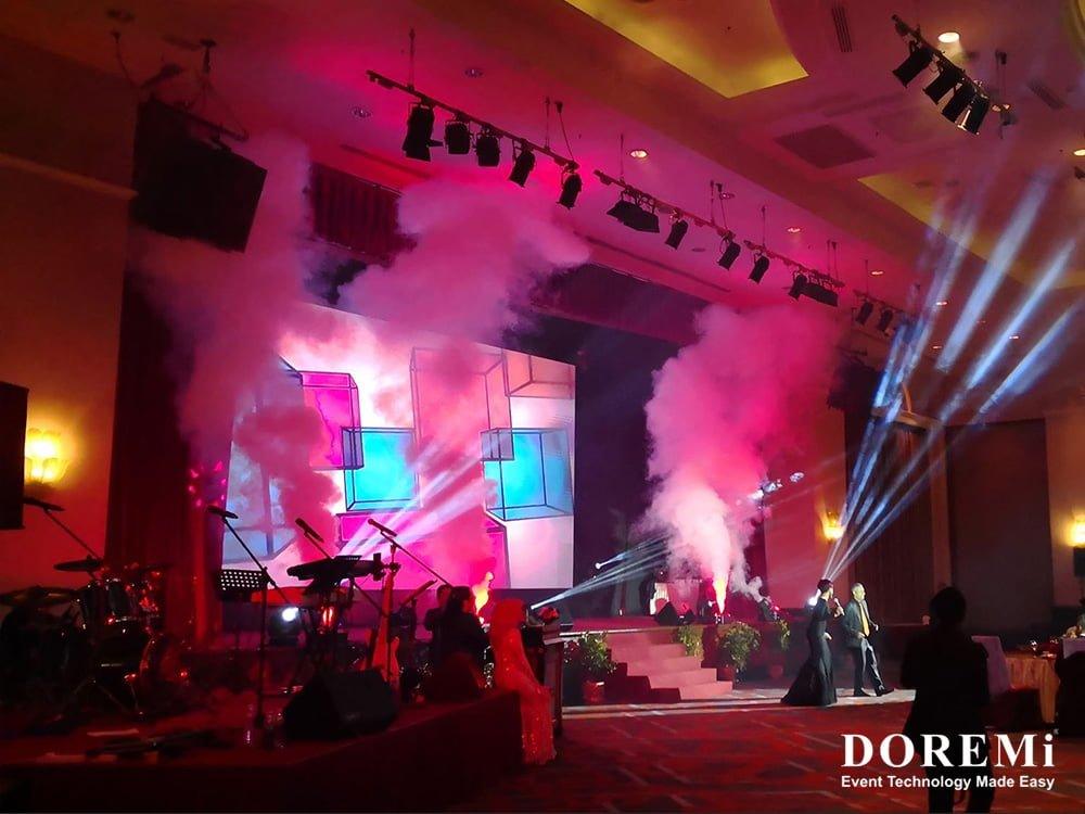 03 Gala dinner Launching led Music Video Stage structure led Creative Stage Console professional Sound Light Event DOREMi.jpg