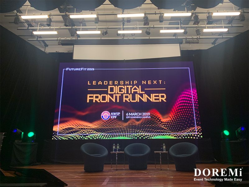 KWSP Digital Front Runner Doremi Event 2019 SoundSystem LightingSystem BackdropTruss LEDScreen 6