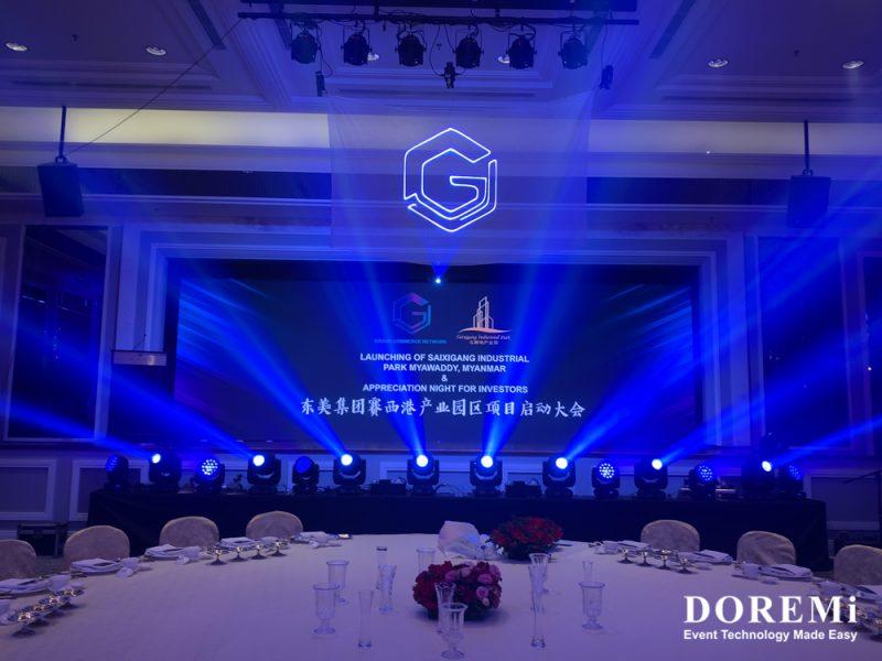 Doremi Launching Laser LEDscreen Soundsystem RentalMalaysia Lightingsystem 2