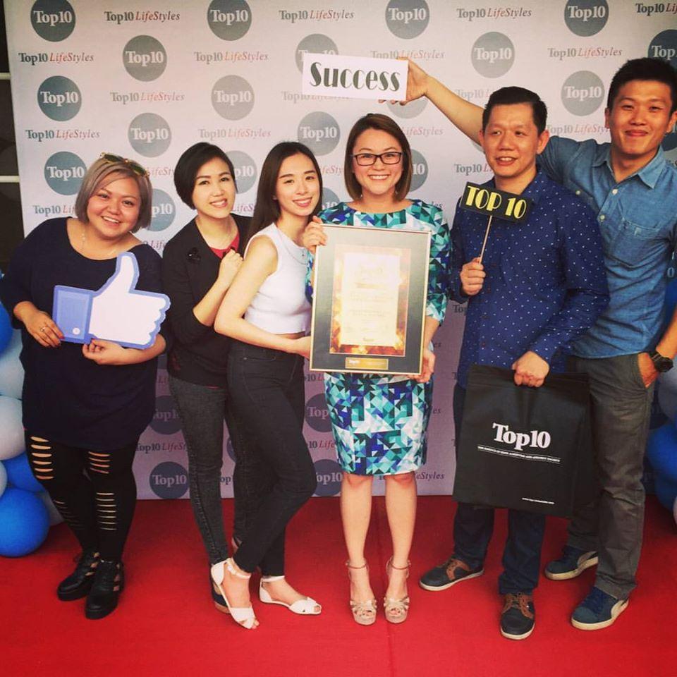 top 10 of malysia award 2015